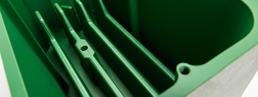 FEP, Antihafteigenschaft: Verhinderung von Ablagerungen oder Verklebungen